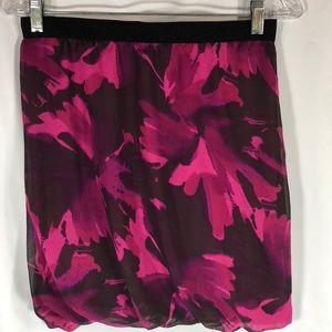 Ann Taylor Loft Floral Mini-Skirt